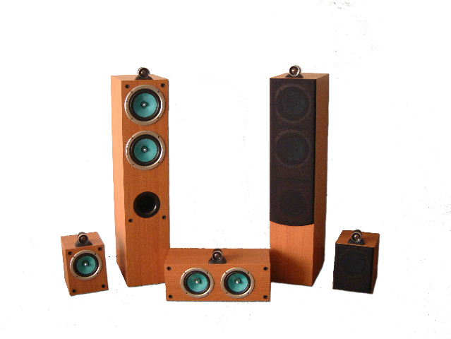 JA Audio 5.1 Wharf Home Theater System W Ceramic Dome Tweeter