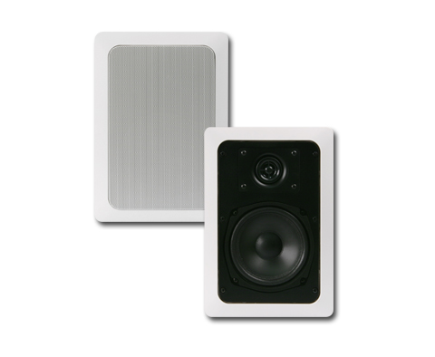 "JA Audio - 5 1/4"" 2-way In-Wall Speaker"